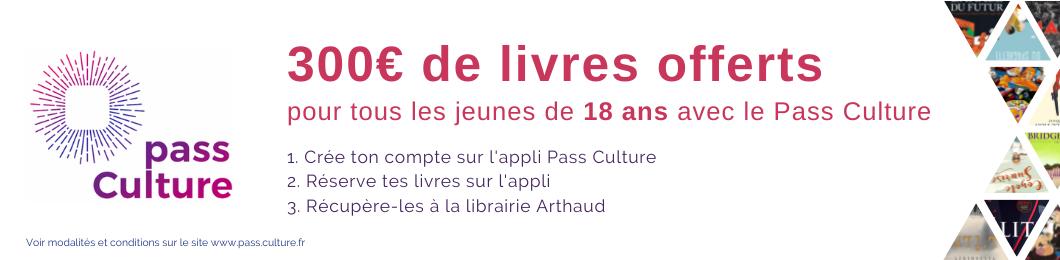 PassCulture Librairie Arhaud